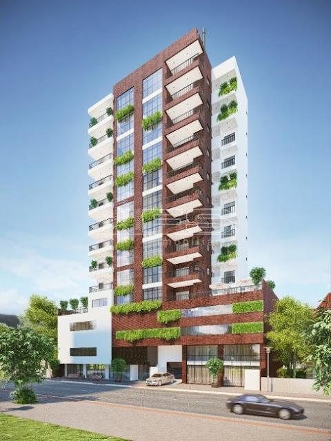 V2132 - Green Residence - Apartamentos 3 suítes - Meia Praia - Itapema/SC