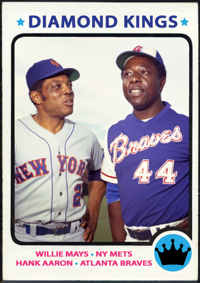 When Topps Had Baseballs Special Card 1973 Willie Mays