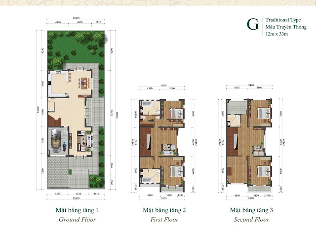 Bán biệt thự Grand Gardenville Ciputra Tây Hồ Residence