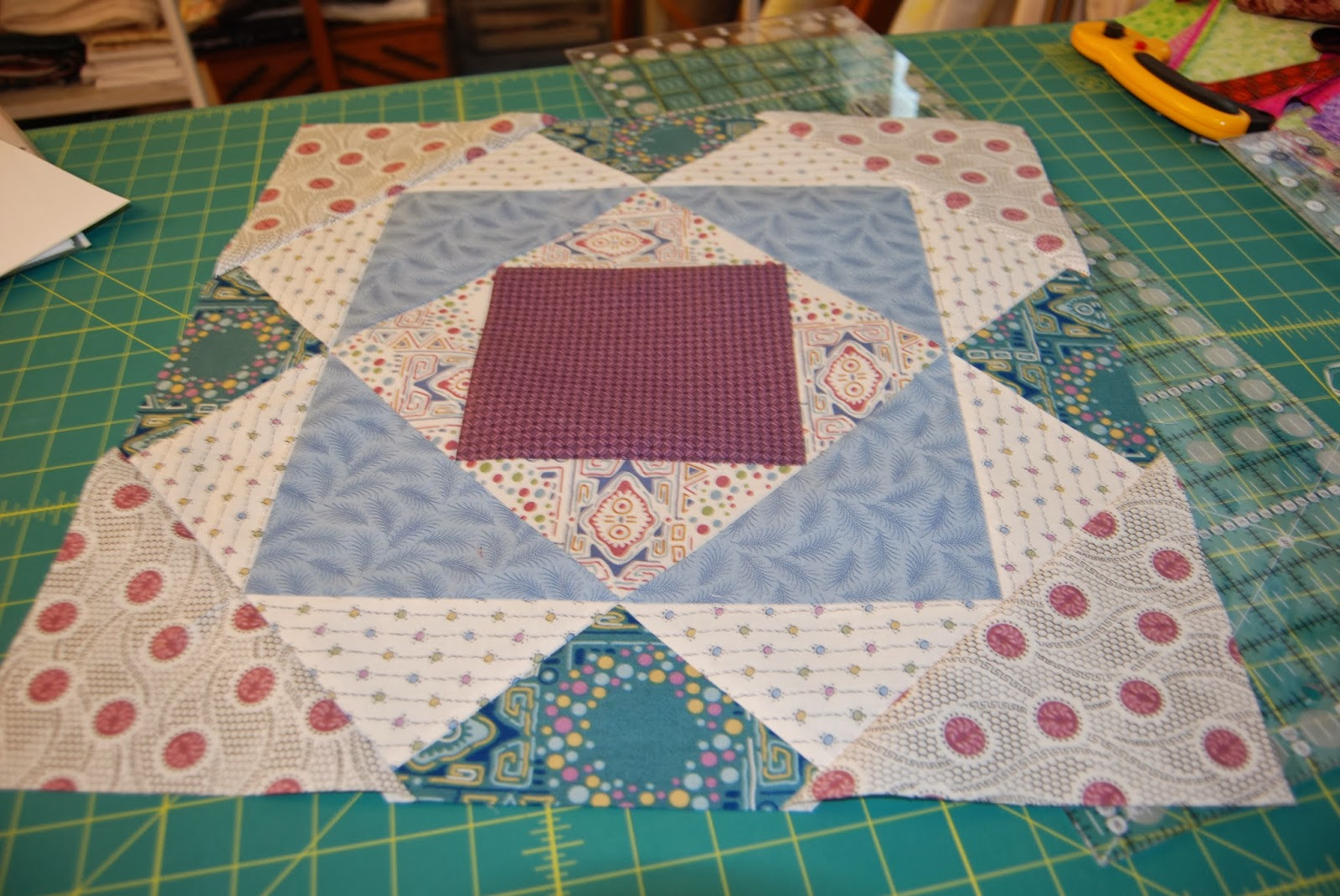 Miss Marker S Quilts Downton Abbey Block 3 Mary