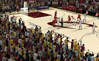 NBA 2K13 Cleveland Cavaliers Stadium Crowd Patch