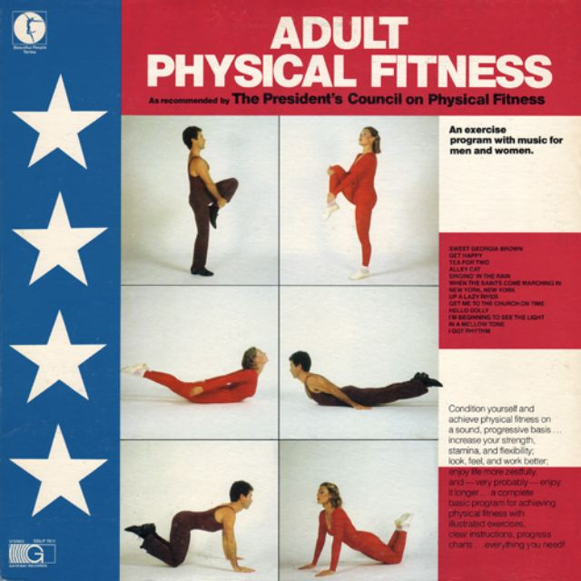 28 Hilarious Vintage Workout Album Covers From the Early