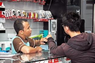 Pengalaman berbelanja di els