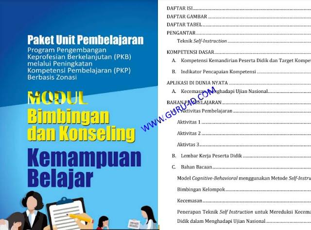 gambar modul PKP BK SMP 2019