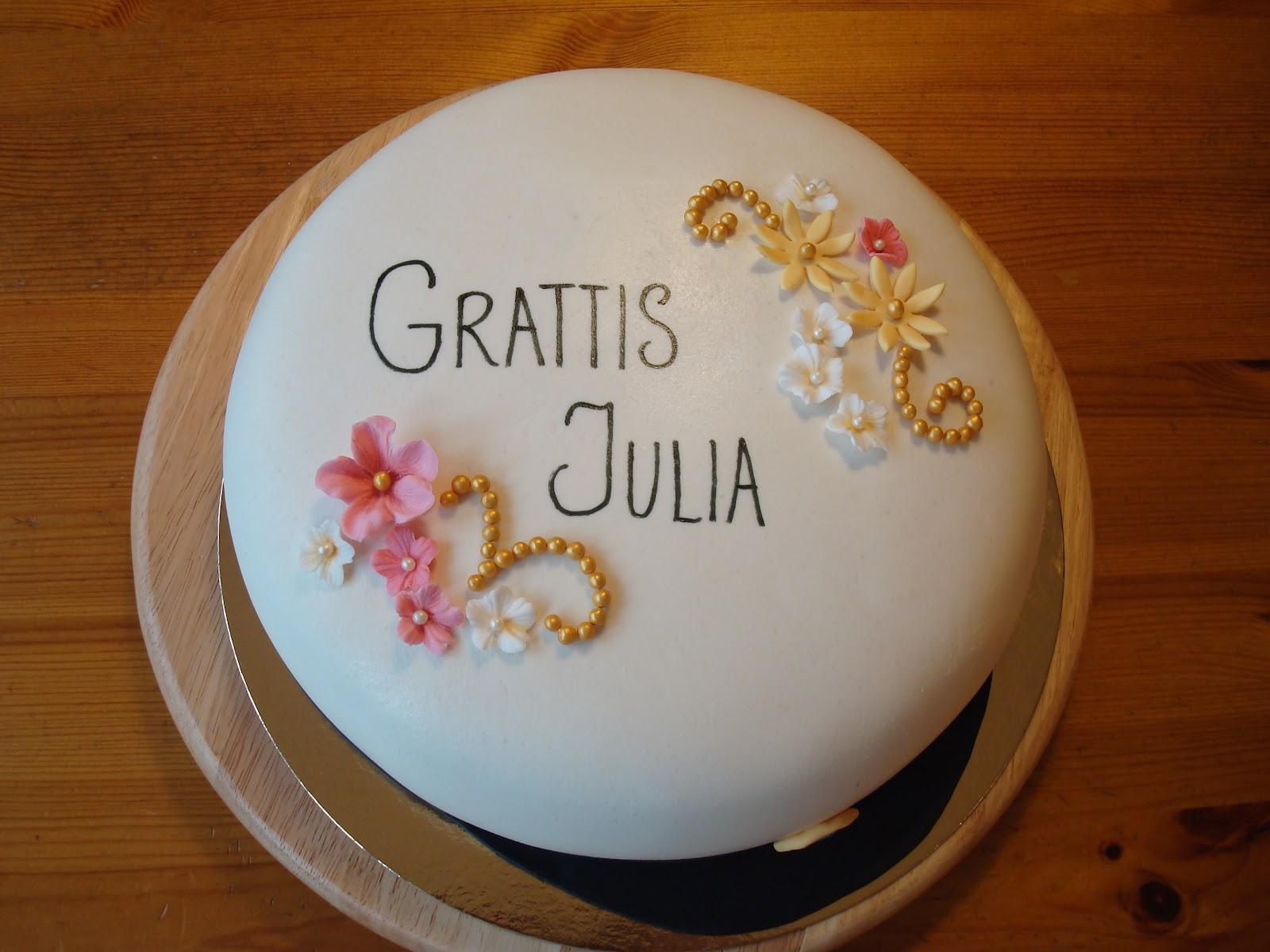 grattis julia Nellie & Gabriel 10 år | Jessicas tårtverksta´ grattis julia