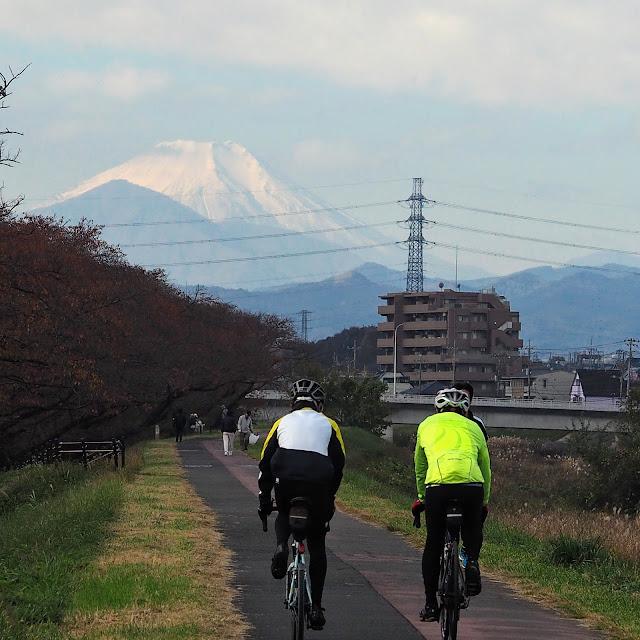 浅川 富士山