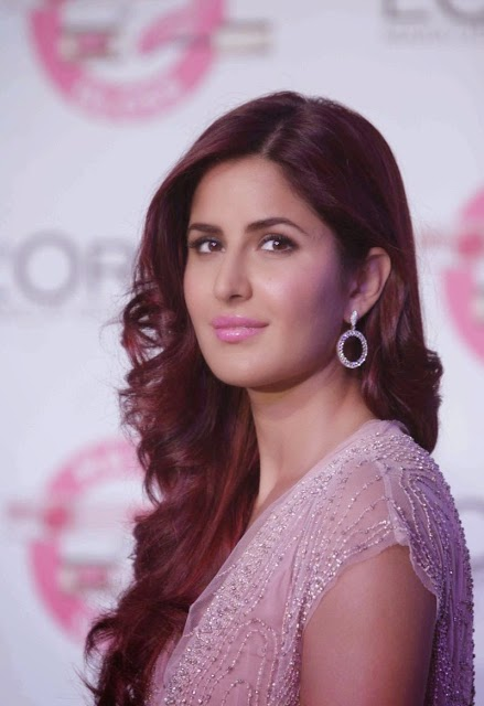Katrina Kaif Stunning Stills From L'Oreal Paris Cannes 2015 Collection