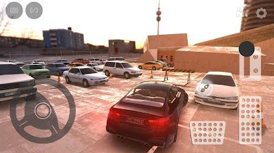 Tampilan Game Real Car Parking 2017 Street 3D