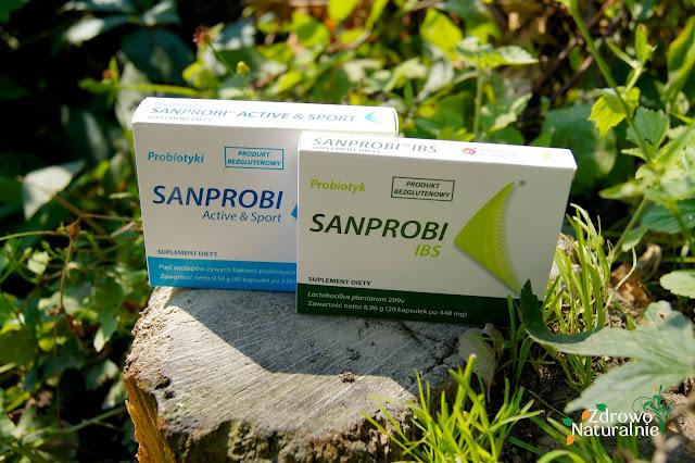 Sanprobi - Probiotyki IBS oraz Active & Sports polecane przez specjalistów i rekomendowane również przez nas