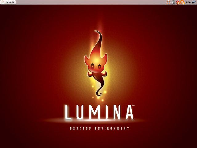 FreeBSD系OS、PC-BSDをLUMINAデスクトップで使ってみた