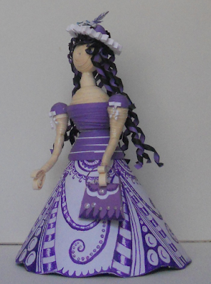 2016 handmade cindrella doll designs - quillingpaperdesigns