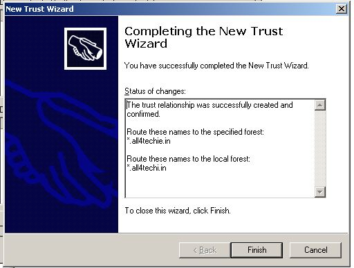 All4Techie: Active Directory Domain and Trust