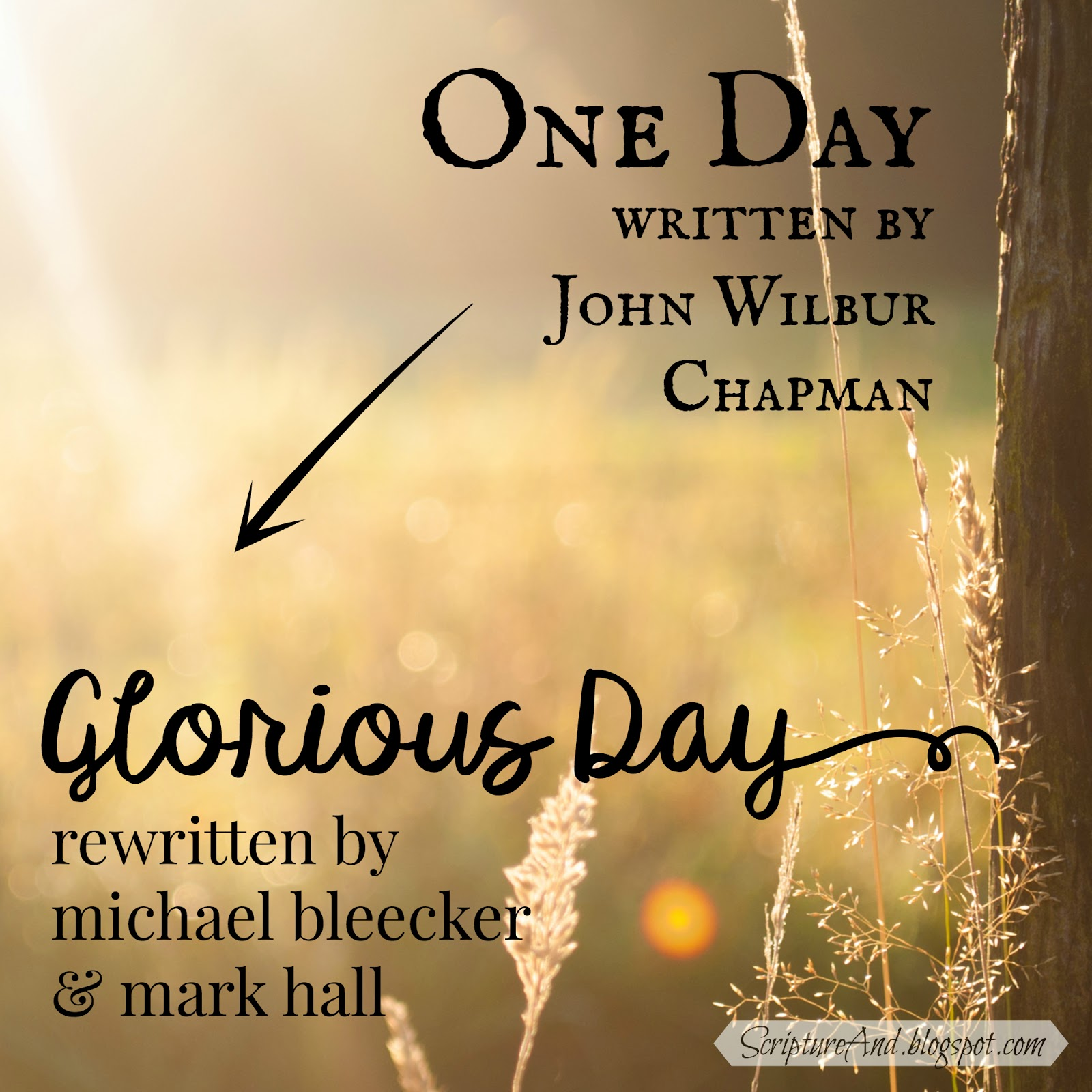 Scripture and Bible Verses for e DayGlorious Day