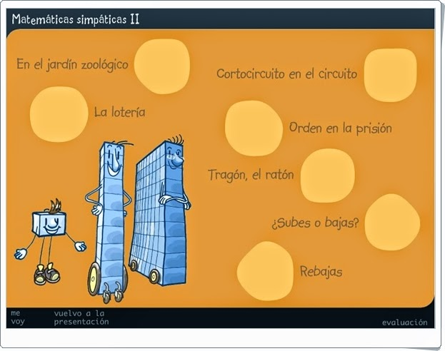 """""""Matemáticas Simpáticas II"""" (Juegos de 2º de Primaria)"""