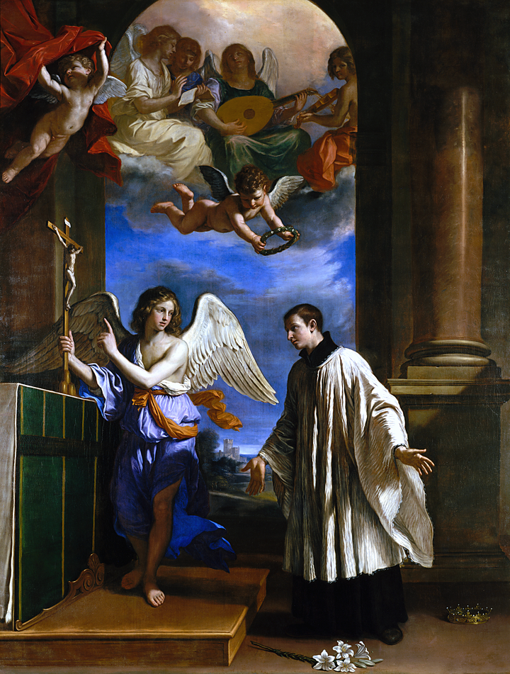Maria Angela Grow St Aloysius Gonzaga S Prayer To St Michael