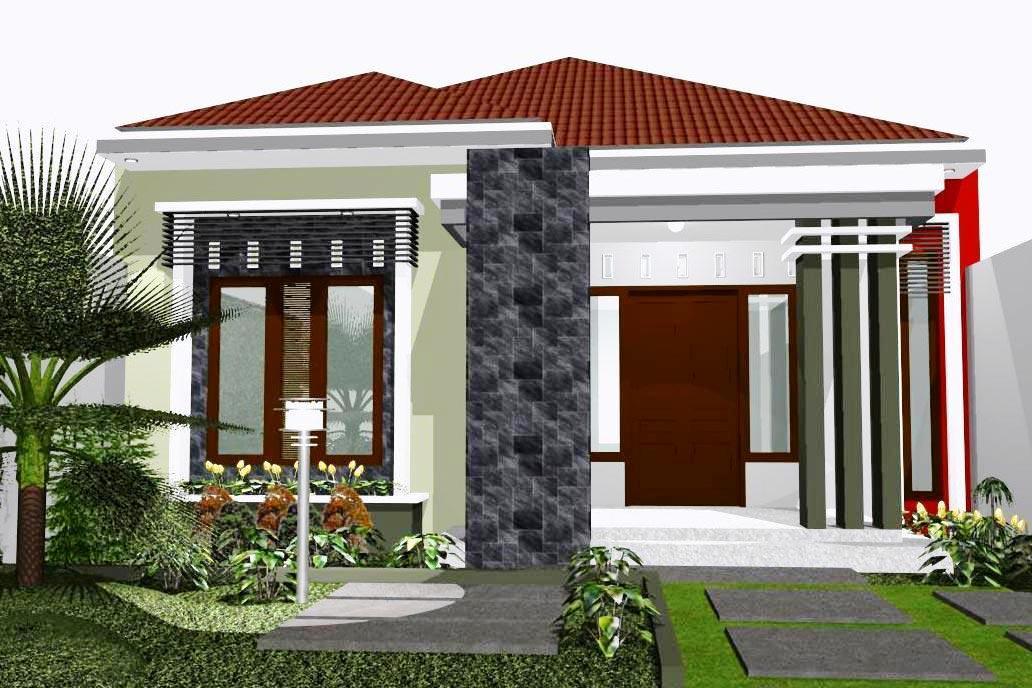 Desain Rumah Minimalis Sederhana Elegan 1 Lantai
