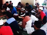 Subhanallah, Napi Rutan Kelas II.B Pangkep Khatamkan 30 Jus Tiap Hari Selama Ramadan