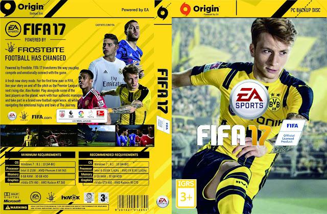 Capa Fifa 17 PC