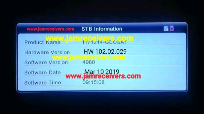 ALI3510C HW 102 02 029 NEW POWERVU SOFTWARE BY USB 2019