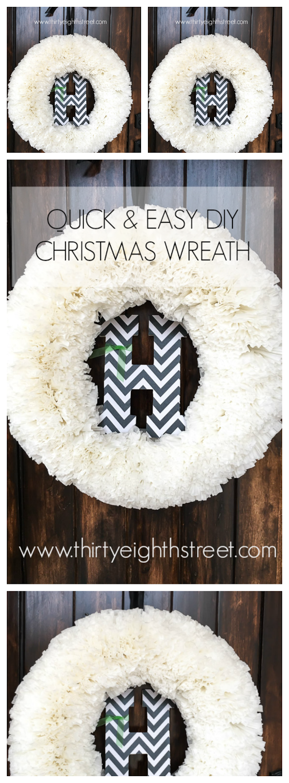 christmas decorations, DIY Christmas decorations, christmas decor pinterest, coffee filter wreath