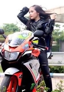 ggs return prilly menjadi anak motor