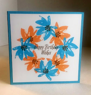 Floral Birthday Card by Paper Seedlings.