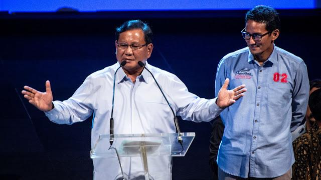 Kata Prabowo, Cawapres Harus Muda Biar Tak Gampang Capek