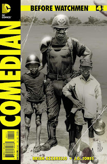 Before Watchmen Comedian #4 Cover