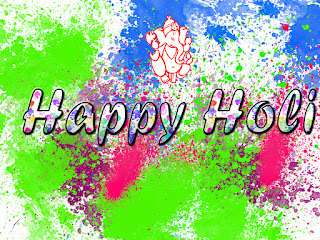 Holi God Ganesh 2017 Images.