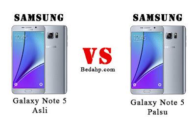 Cara Cek Samsung Note 5 Asli dan Palsu, Replika