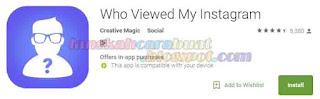 Cara Melihat Stalker Instagram Kita. Siapa Sering Kepo ?