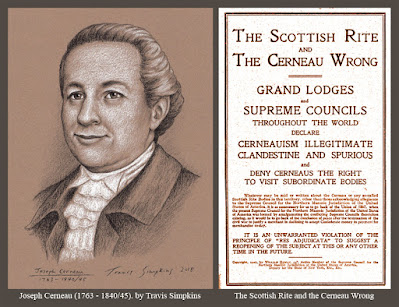 Joseph Cerneau. Cerneau Supreme Council. Scottish Rite Cerneauism. by Travis Simpkins