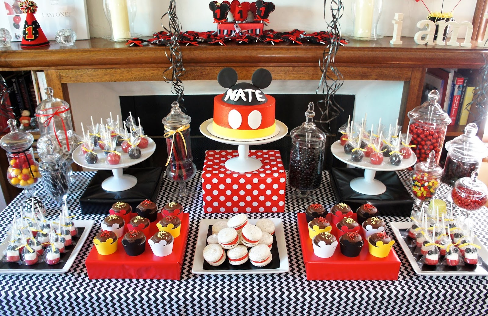 Half Baked Co Mickey Mouse Dessert Table