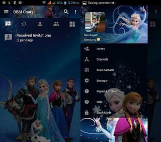 BBM Mod Frozen Terbaru Full Features v3.2.5.12 Apk