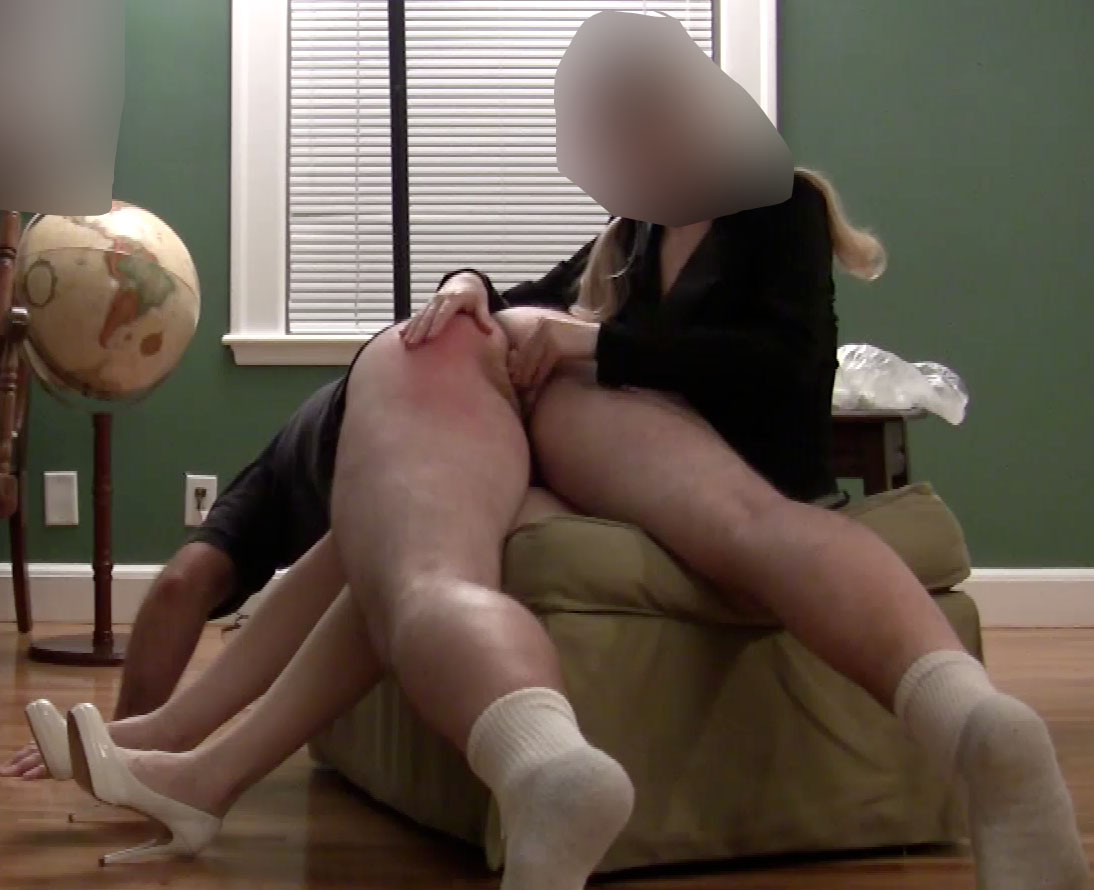 spanked by boyfriend
