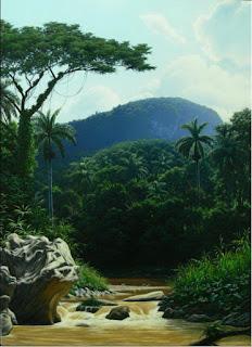 bosques-panoramas-naturales pinturas-realistas-oleo-bosques