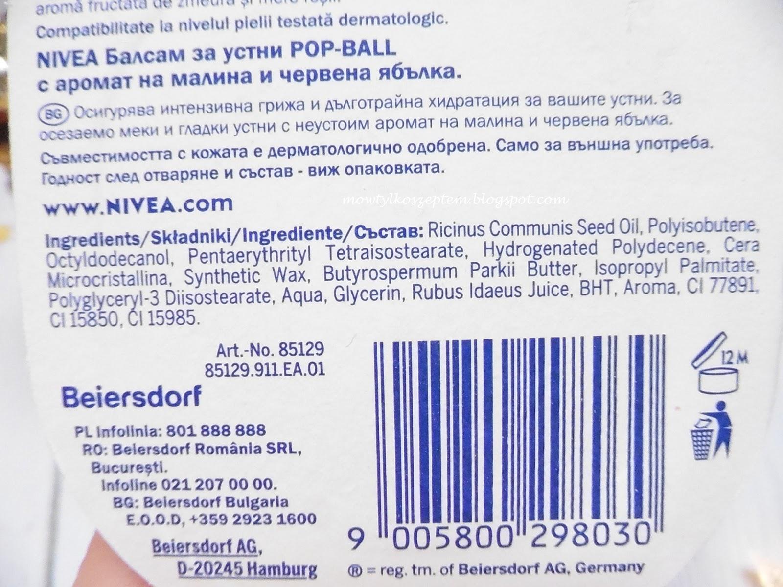 pop-ball-nivea,balsam-do-ust-w-kulce-nivea,jajeczko-do-ust,pop-ball-jablko-malina