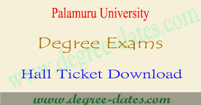 Telangana University degree hall tickets 2018 download tu ug results
