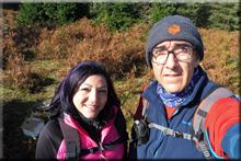 Miritxa mendiaren gailurra 885 m. - 2017ko azaroaren 1ean