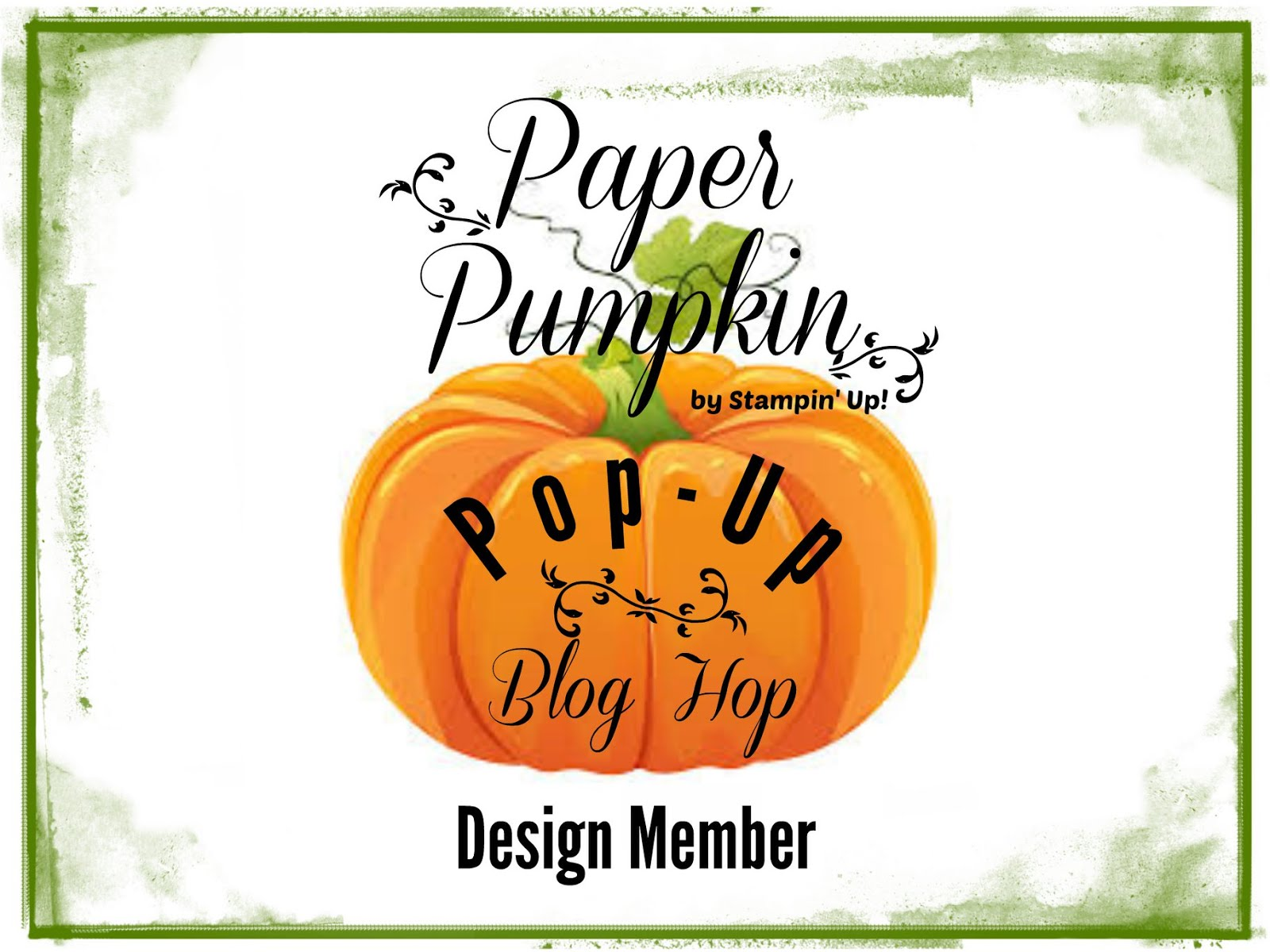 Paper Pumpkin                Pop-up Blog Hop