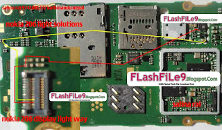 nokia 206 display light solution. Nokia Asha 206 light problem can be due to water damages and carbon or rust.If you feel smell like burn rubber it may can be damages or components.Nokia Asha 206 light problem, lcd light problem, display light problem, led light problem, Keypad light problem.