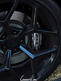 Blue Lightning Custom Chevrolet Camaro ZL1 Wheel