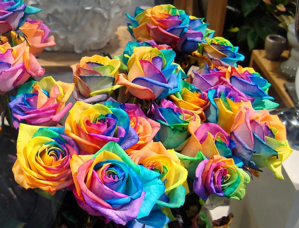 Latest Fashion Trends Rainbow Wedding Theme Bright