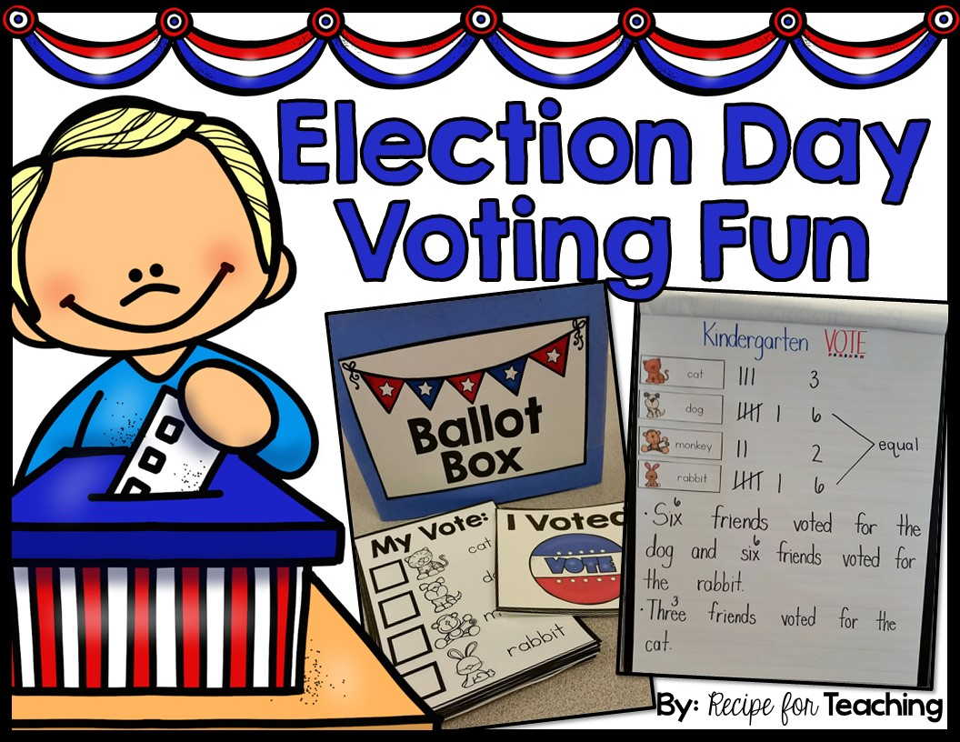 Election Day Voting Fun For Kindergarten