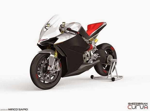 MOTOR SPORT Curva 1190 Modifikasi Futuristik Ducati 1199