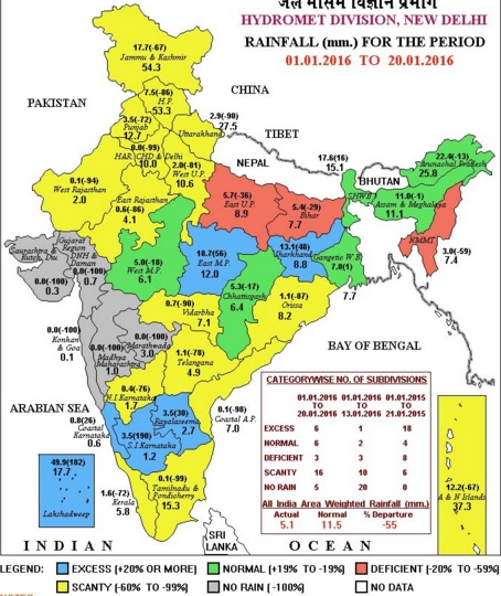 India States Map 2016.Agricultural Commodities Market In India Recent Weather