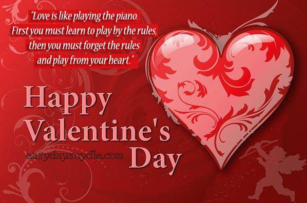 Valentines Day Card Messages 2017 Valentine day SMS in English – Valentines Cards Words