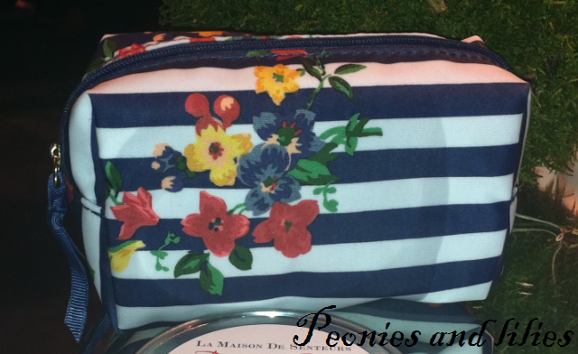 M&S nautical floral purse, M&S spring 13