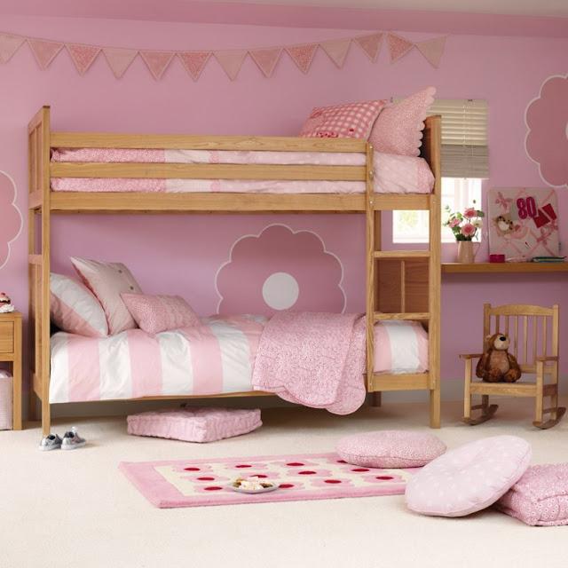 Home Interior Decorating Girls Bedroom Ideas Loft Bed