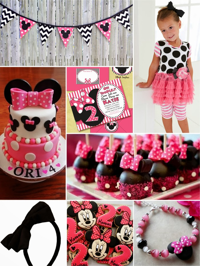Minnie Mouse Birthday Party Ideas Addison S First